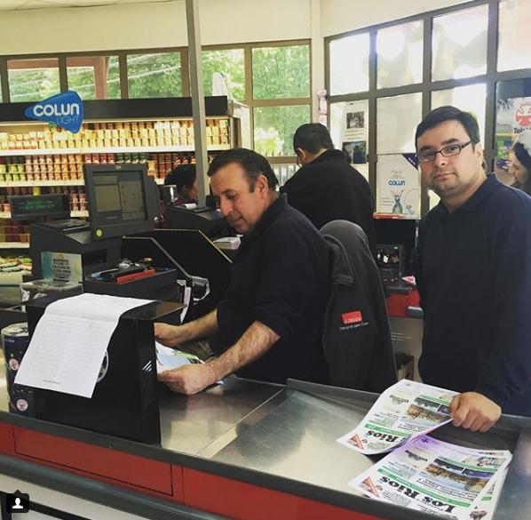 Distribución en Supermercados medianos. (Foto: Colun, Paillaco.)