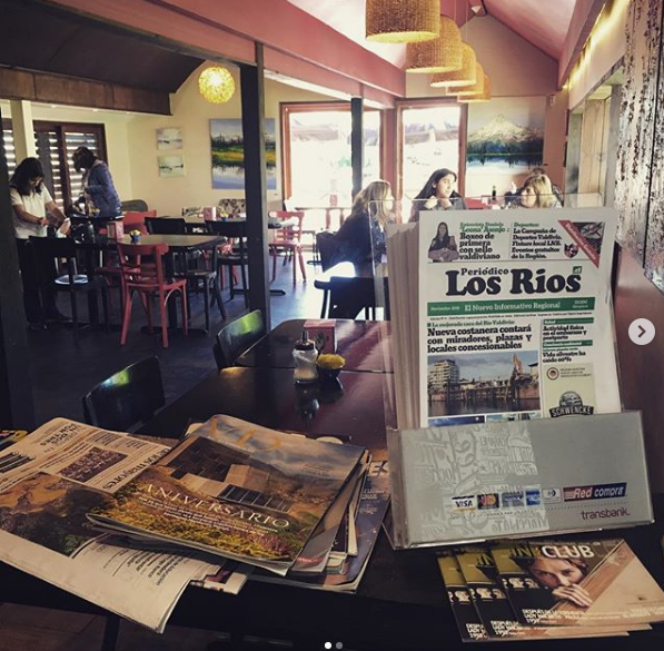 Distribución en Restaurantes y Cafés